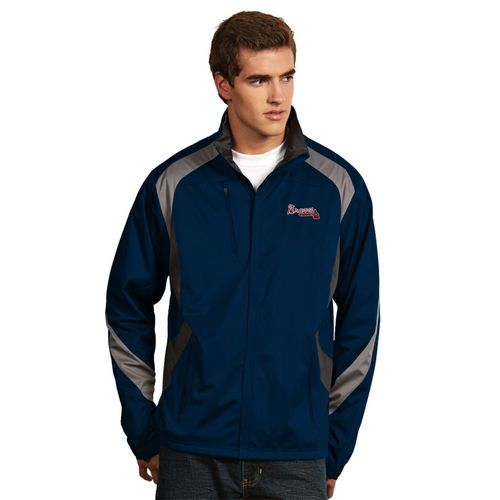 Antigua Men's Atlanta Braves Tempest Jacket