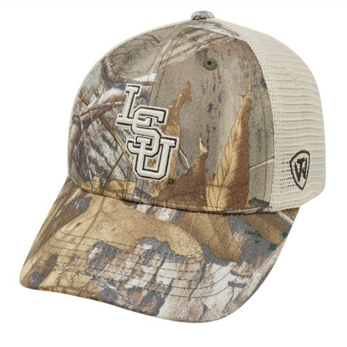 Top of the World Adults' Louisiana State University Prey Cap