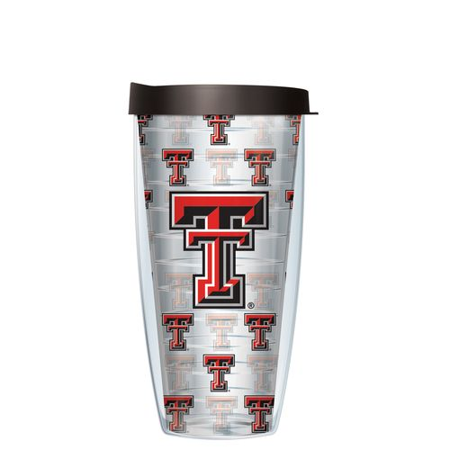 Signature Tumblers Texas Tech University 22 oz. Repeated Pattern Traveler Insulated Tumbler