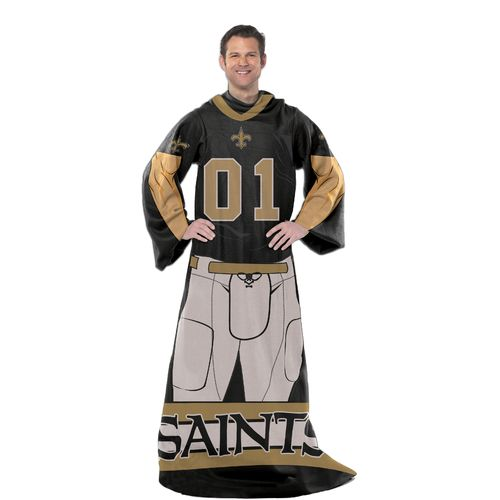 The Northwest Company New Orleans Saints Uniform Comfy Throw