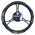 The Northwest Company Jacksonville Jaguars Steering Wheel Cover - view number 1