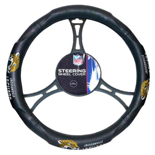 The Northwest Company Jacksonville Jaguars Steering Wheel Cover