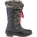 KHOMBU® Women's Jasmine Grey Waterproof Boots
