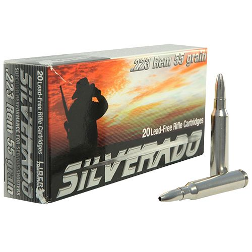 Liberty Ammunition Silverado .223 Remington/5.56 NATO 55-Grain