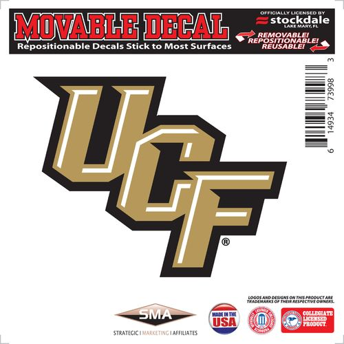 "Stockdale University of Central Florida 6"" x 6"" Decal"