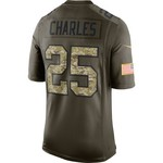 Nike Men's Kansas City Chiefs Jamaal Charles #25 Salute to Service Alternate Replica Jersey