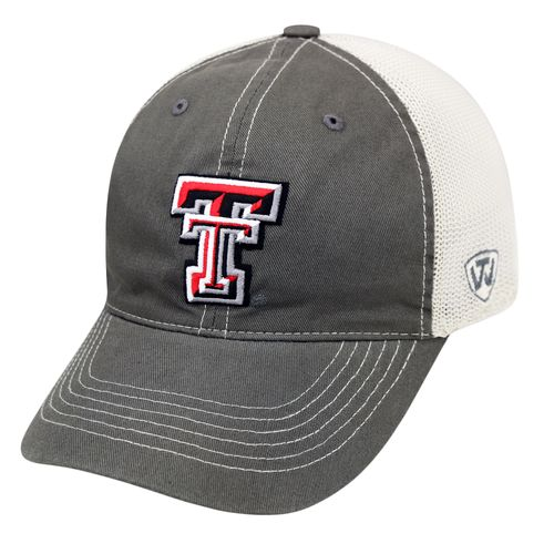 Top of the World Adults' Texas Tech University Putty Cap