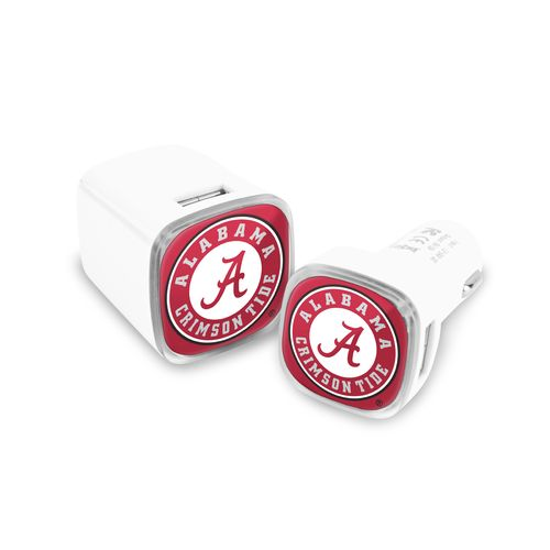 Mizco University of Alabama USB Chargers 2-Pack