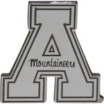 Stockdale Appalachian State University Chrome Freeform Auto Emblem - view number 1