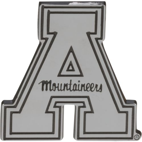 Stockdale Appalachian State University Chrome Freeform Auto Emblem