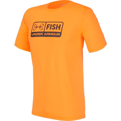 Under armour men 39 s fish tech t shirt academy for Under armour fishing shirts clearance