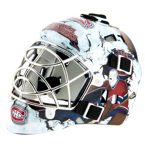 Franklin NHL Team Series Montreal Canadians Mini Goalie Mask - view number 1