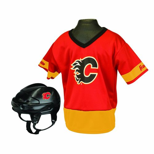 Franklin Kids' Calgary Flames Uniform Set