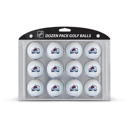 Display product reviews for Team Golf Colorado Avalanche Golf Balls 12-Pack