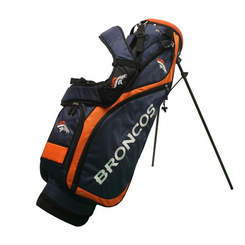 Team Golf Denver Broncos Nassau Golf Stand Bag