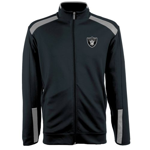 Antigua Men's Oakland Raiders Flight Jacket