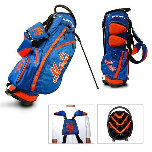 Team Golf New York Mets Fairway 14-Way Stand Golf Bag