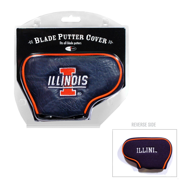 Team Golf University of Illinois at Blade Putter