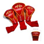 Team Golf Iowa State University Contour Sock Head Covers 3-Pack