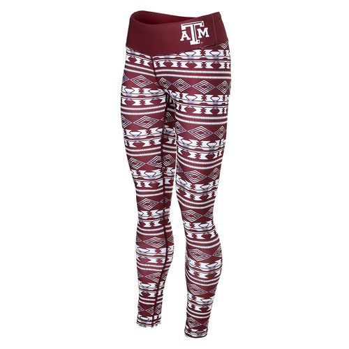 NCAA Women's Texas A&M University Aztec Print Legging
