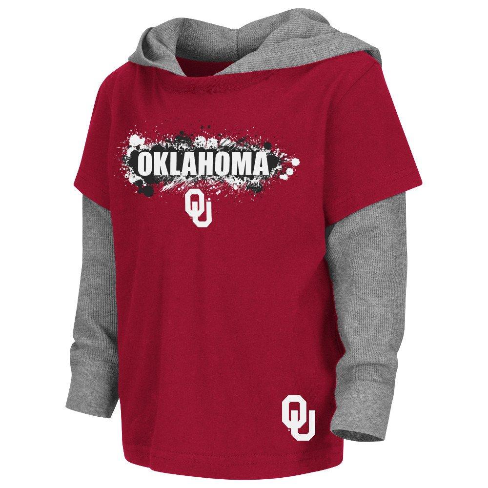 Colosseum Athletics Toddler Boys' University of Oklahoma Splatter