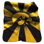 Logo™ University of Iowa Raschel Throw