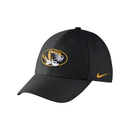 Nike™ Adults' University of Missouri Swoosh Flex Cap