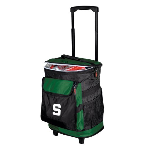 Logo™ Michigan State University 48-Can Rolling Cooler - view number 1