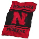 Logo University of Nebraska Ultrasoft Blanket