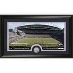 The Highland Mint Seattle Seahawks Stadium Minted Coin Panoramic Photo Mint