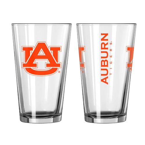 Boelter Brands Auburn University Game Day 16 oz. Pint Glasses 2-Pack