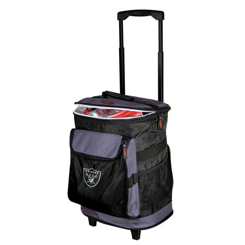 Logo™ Oakland Raiders Rolling Cooler - view number 1