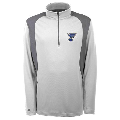 Antigua Men's St. Louis Blues Delta 1/4 Zip Pullover