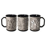 Boelter Brands New York Yankees Stone Wall 15 oz. Coffee Mugs 2-Pack