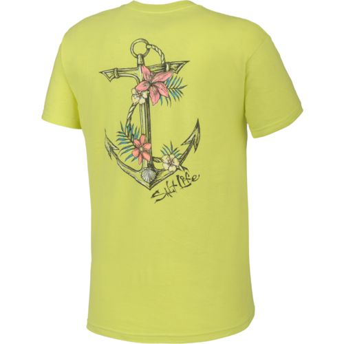 Salt Life™ Juniors' Tropical Anchor Graphic T-shirt