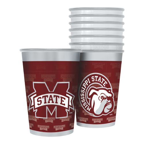 Boelter Brands Mississippi State University 20 oz. Souvenir Cups 8-Pack