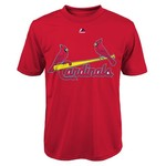 Majestic Boys' St. Louis Cardinals Yadier Molina #4 Short Sleeve T-shirt - view number 2