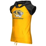 Colosseum Athletics Girls' University of Missouri Jewel Short Sleeve Hoodie