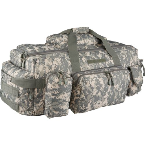 CODE ALPHA Tactical 2-in-1 Multipocket Duffel Bag and