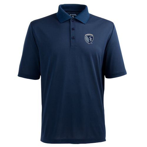 Antigua Men's Sporting Kansas City Piqué Xtra-Lite Polo Shirt