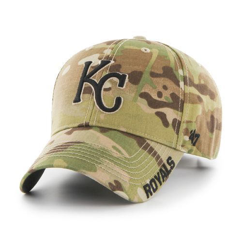 '47 Kansas City Royals Camo Myers MVP Cap