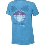 Salt Life Juniors' Flamingo Sunset T-shirt