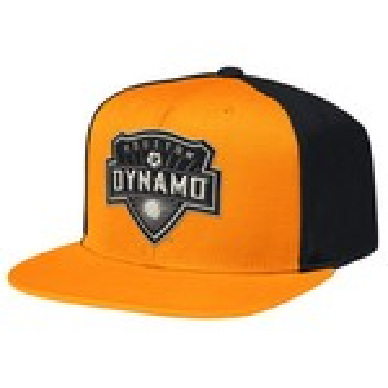 adidas™ Men's Houston Dynamo Lifestyle Flat Brim Snapback Cap