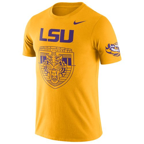 Nike Men's Louisiana State University ENZ Campus Short Sleeve T-shirt