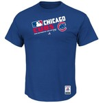 Majestic Men's Chicago Cubs On Field Team Choice T-shirt