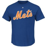 Majestic Men's New York Mets Noah Syndergaard #34 T-shirt - view number 2