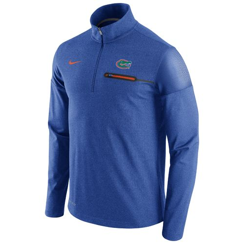 Nike™ Men's University of Florida Coaches 1/2 Zip Jacket