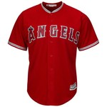 Majestic Men's Los Angeles Angels of Anaheim Kole Calhoun #56 Cool Base Replica Jersey - view number 2