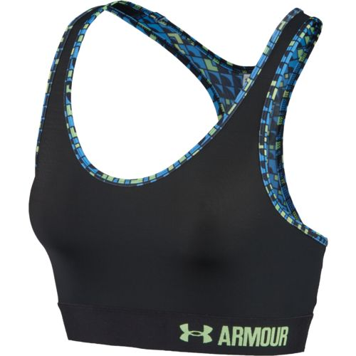 Under Armour Women's Self Binding Mid Sports Bra
