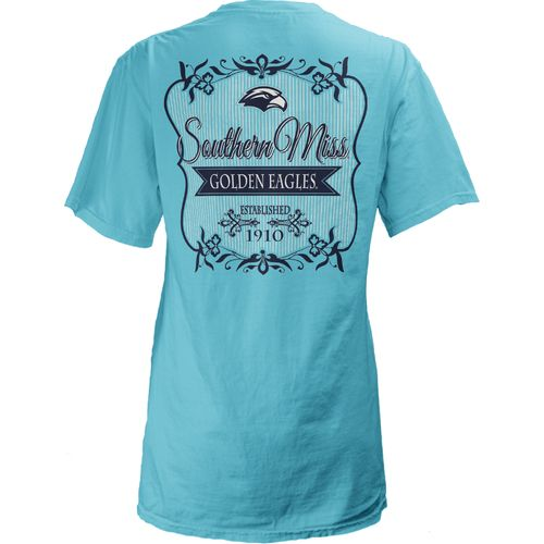 Three Squared Juniors' University of Southern Mississippi Flora T-shirt